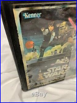 Star Wars Vintage 1977 Collectors Kenner Mini-Action Figures Case Sealed Rare