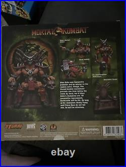 Storm Collectible Mortal Kombat Shao Kahn Special Edition NEW Sealed Figure RARE