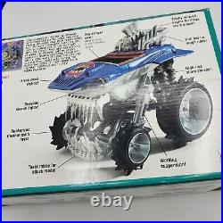 Street Sharks Sharkruiser 4 x 4 Vintage Rare 1994 With Box And Sealed Stickers