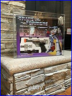 Super Rare AFA80 G1 Transformers Megatron MISB TM Pre Rub Sealed on both sides