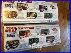 Super Rare Star Wars The Force Unleased Figure Pack Sets 1&2 2010 Factory Sealed