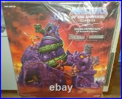 Super7 Masters Of The Universe Classics Snake Mountain Brand New Sealed Rare