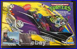TMNT 1989 Footcruiser Vehicle (MISB Never Opened) Great Condition & Rare