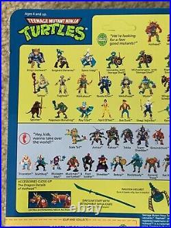 TMNT 1992 Teenage Mutant Ninja Turtles Hothead Action Figure Toy MOC Sealed RARE
