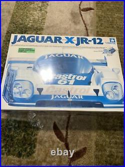 Tamiya Jaguar Xjr-12 New Factory Sealed Rare On Road Rc Car Sport Tuned Motor