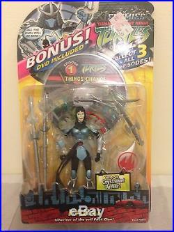Tmnt Teenage Mutant Ninja Turtles Karai Action Figure 2005 Shedder Rare Sealed
