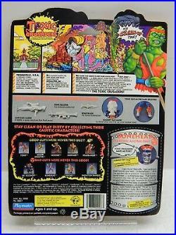 Toxic Crusaders MOC Vintage Rare Sealed! Playmates Lot 1991 Free Shipping