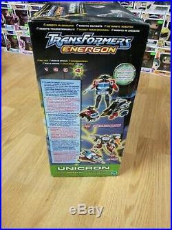 Transformers Energon Unicron 2003 Black Variant Version Rare New Sealed