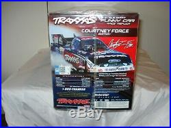 Traxxas Funny Car Courtney Force New In The Box! Factory Sealed Plastic RARE