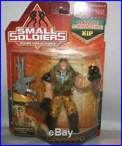 Ultra Rare 1998 Small Soldiers Battle Changing Kip Killigan Kenner Sealed NOC