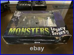 Universal Studios Monsters Legacy Series II Action Figures Sealed Rare Limited