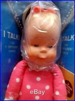 VINTAGE 1964 Talking DROWSY Doll Mattel In Box Sealed Rare