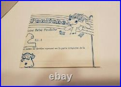 Very Rare Vintage G1 1985 My Little Pony Baby Surprise Factory Sealed Bilingual