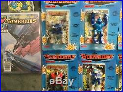 Vintage 1984 TOMY Starriors Lot, Sealed, with Extras! Rare