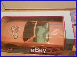 Vintage Barbie Remote Control Pink Corvette 19 Blue-Box Sports Car Sealed RARE