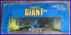 Vintage Giant Size TMNT Leonardo 13 Figure MIB PLAYMATES Rare + Factory SEALED