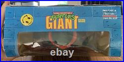 Vintage Giant Size TMNT Michelangelo 13 Figure PLAYMATES Rare + Factory SEALED