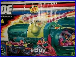 Vintage Gijoe/cobra Bugg 1988 New Factory Sealed Arah Misb Mib Super Rare Afa