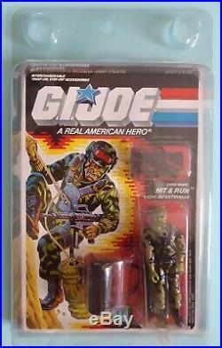 Vintage Hasbro Arah Gi Joe Hit N Run 1988 Moc Unpunched Factory Sealed Rare Htf