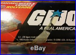 Vintage Hasbro1983 Gi Joe Wolverine Sealed Arah Misb Factory Sealed Super Rare