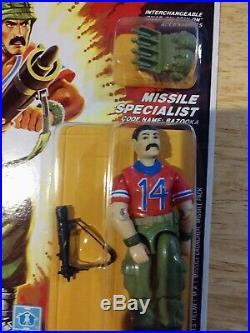Vintage Hasbro1985 Gijoe Bazooka Arah Misb Moc New Factory Sealed Rare 3.75 L@@k