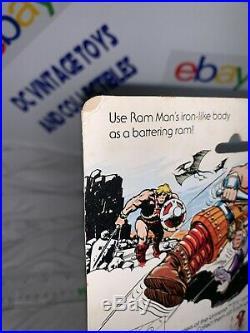 Vintage Masters Of The Universe RARE! Sealed Vintage Original Motu 1982 Ram Man