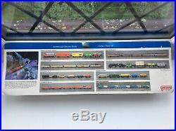 Vintage Micro Machines 1990 Blue Bullet Train Moc Sealed Super Rare
