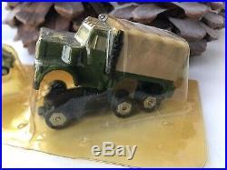 Vintage Micro Machines 1991 Triplesiders Cargo Truck Sealed Bubble Super Rare