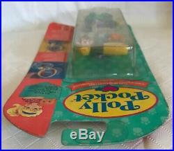 Vintage POLLY POCKET Fuzzy Kitty Locket 1994 NEW & SEALED MOC Keepsake Rare