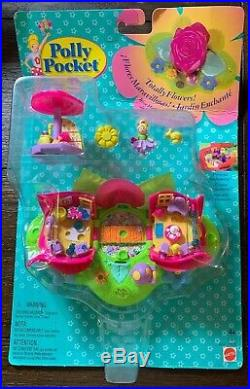Vintage POLLY POCKET Totally Flowers Rose Hideaway Perfumery NEW SEALED Rare