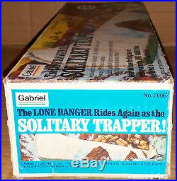 Vintage Rare 70's Marx/Gabriel The Lone Ranger SOLITARY TRAPPER Sealed New MISB