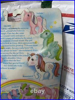 Vintage Rare New In Box Hasbro 1983 My Little Pony Glory Sealed Brush Ribbon +