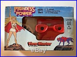 Vintage She-ra Princess Of Power Viewmaster Gift Box Set 1985 Sealed He-man Rare