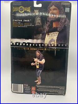 WWE Cactus Jack Classic Superstars Figure JAKKS Pacific NEW Sealed Toyfare RARE