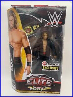 WWE Edge Elite Ringside Exclusive Mattel Figure NEW Sealed RARE Wrestling WWF
