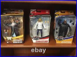 WWE Elite Figure Lot of 11 NEW Sealed Wrestling Mattel Collection RARE Wrestlers