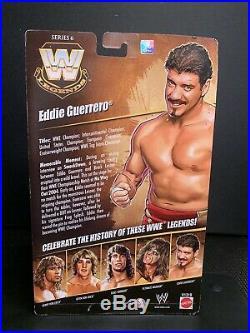 WWE Mattel Elite Legends Series 6 EDDIE GUERRERO with belt HTF RARE SEALED