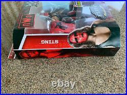 WWE Mattel Elite Sting NWO Wolfpac Ringside Exclusive WCW AEW New Sealed RARE