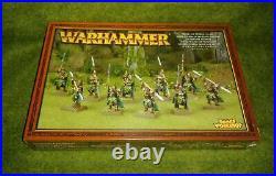 Warhammer Fantasy Wanderers Wood Elf Elves ETERNAL GUARD Rare Metal Sealed OOP