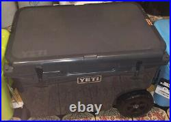 YETI Tundra Haul Cooler, Charcoal RARE hard To Find NEW In Sealed Box