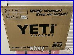 Yeti Tundra 50 Pink Cooler New In Sealed Box Limited Edition Rare 2017 Nos Last1