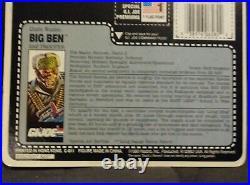 (rare)vintage Hasbro Gi Joe Big Ben 1990 Moc Mip Figure 3.75 Factory Sealed Arah